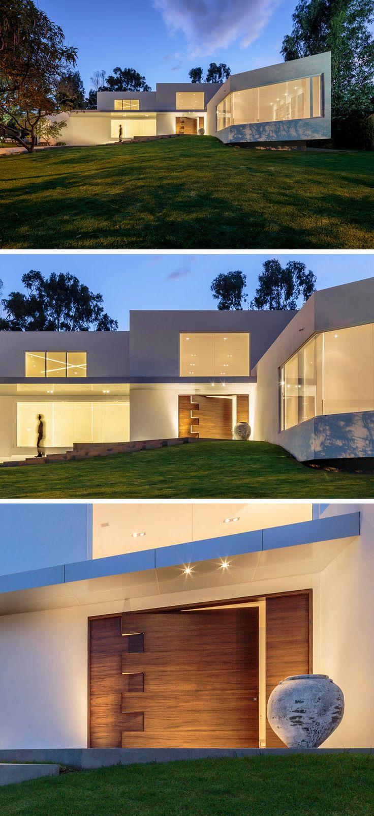 Oltre 25 fantastiche idee su case moderne su pinterest for Case moderne e strette