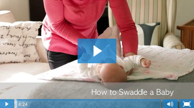 Just Engage - How to Swaddle a baby