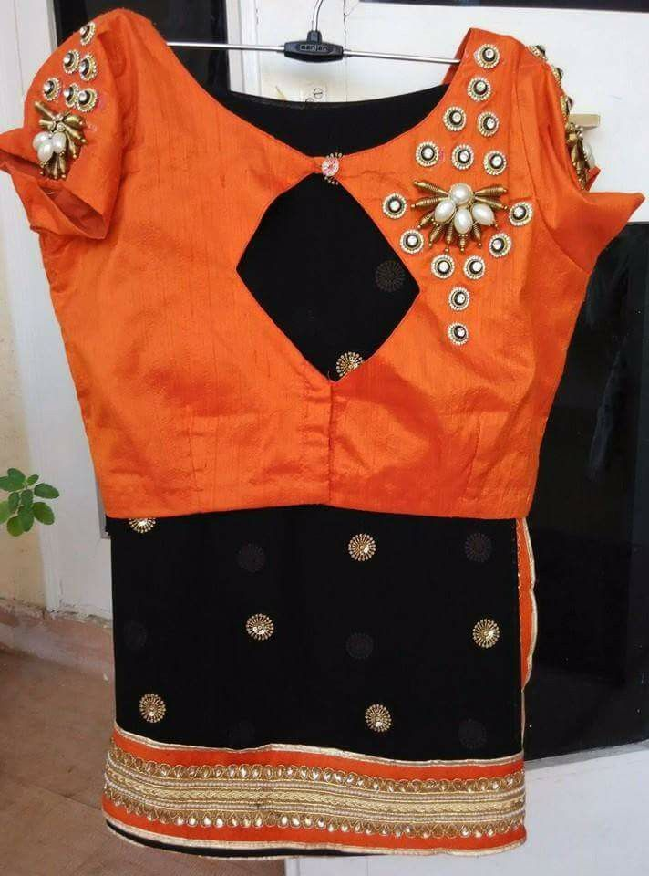 Saree Blouse #cityfashions To order plz WhatsApp on 9703713779