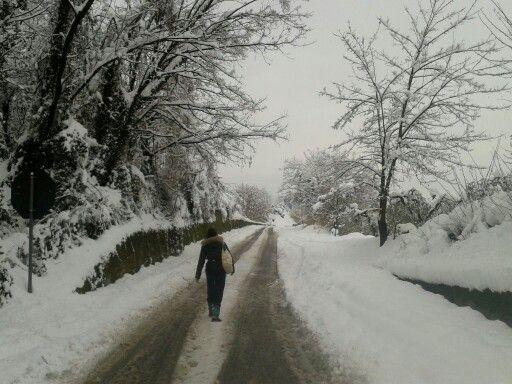 Italy, Abruzzo #winter