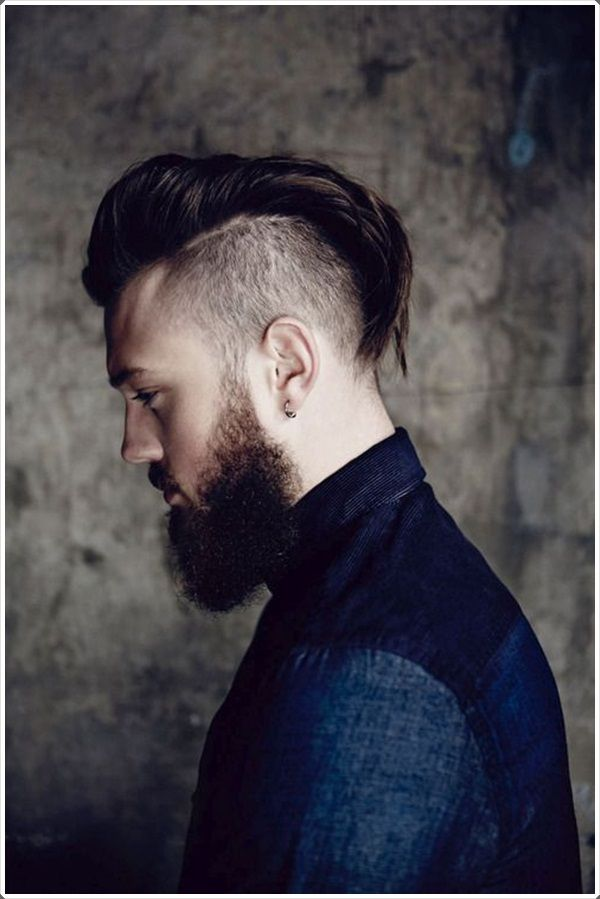 Long hair and an impressive undercut!