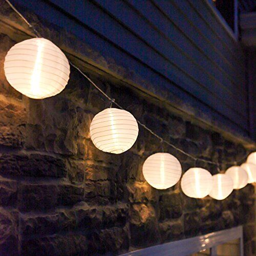 33 Awesome DIY String Light Ideas. Festoon LightsLantern ...