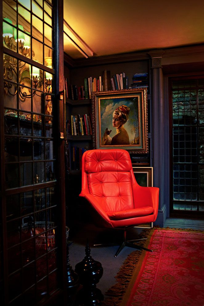 Shaun Clarkson's pad in London photographed for Abigail Ahern's new book