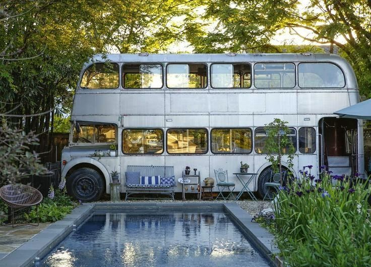 The Home and converted Bus of... Miranda Lake