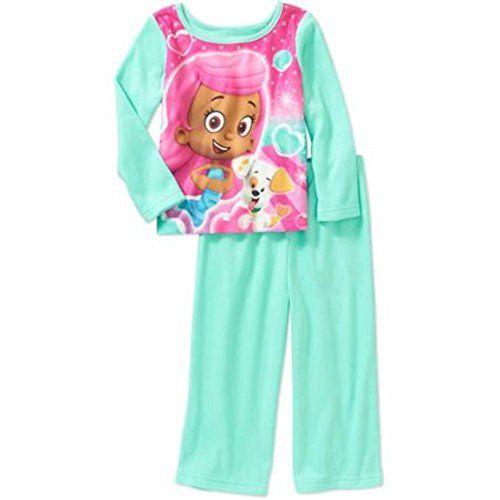 bubble guppies little girlsu0027 pajama set nickelodeon girls