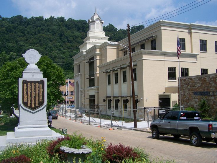 https://flic.kr/p/8RFX4w | WV Morgan CH- Berkeley Springs 2010 (2) | The new courthouse, replacing one destroyed by fire in August 2006.