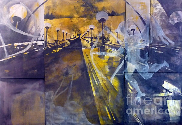 """""""Stairway"""" #art by Martina Anagnostou @managnostou"""