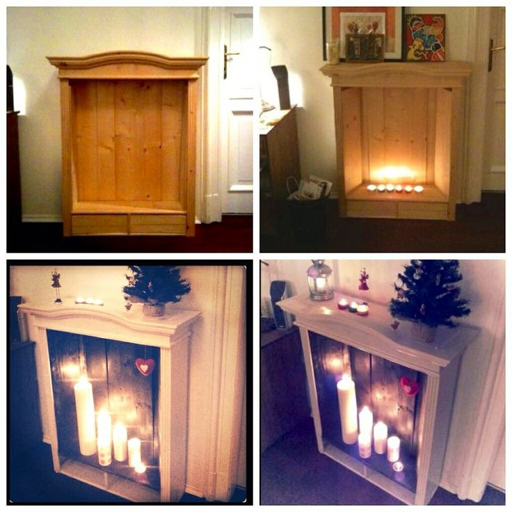 81 best diy fireplace images on Pinterest | Fake fireplace ...