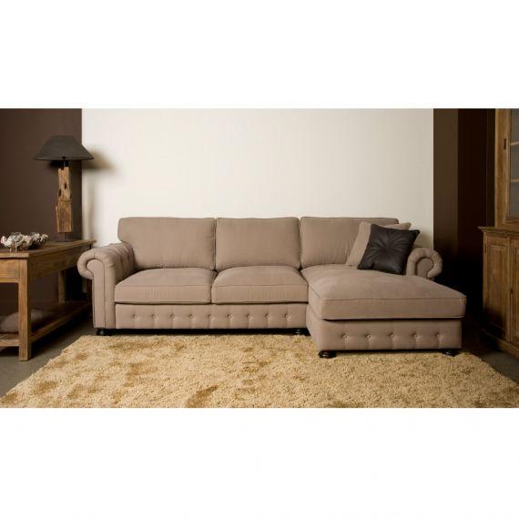 San Remo loungebank bij Meubel en Slaaphuys verkrijgbaar in ruim 100 verschillende kleuren en stofsoorten. http://www.meubelslaaphuys.nl/product/urban-sofa-san-remo-loungebank/