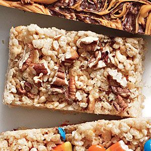 Browned Butter-Pecan Chewy Crispy Bars | MyRecipes.com    http://www.myrecipes.com/recipe/browned-butter-pecan-bars-50400000130464/?iid=news-di-111013&PromKey=XET