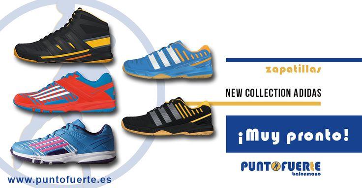 ¡Nueva colección adidas Handball ! Julio empieza con buenas noticias. ¡Visítalas en nuestra web: www.puntofuerte.es y resérvalas ya! #zapatillas #balonmano #Adidas #PuntoFuerte
