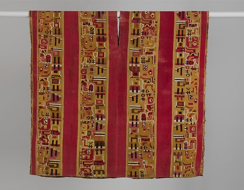 Tunic with Animal-Headed Staff Bearers, ca. 850–950