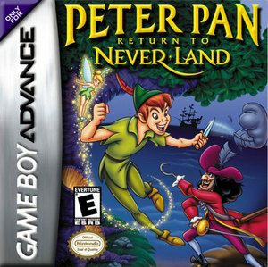 Peter Pan Return to Neverland, Disney's - Game Boy Advance Game