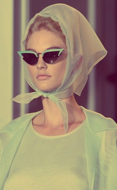 #Vintage Glam at Rochas