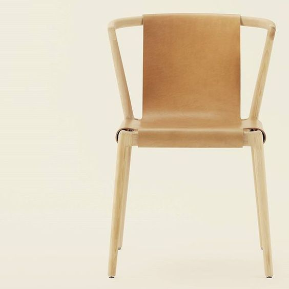 tom fereday / pieman dining arm chair for dessein furniture