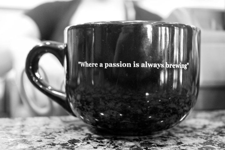 "Caffe Appassionato - ""Where a passion is always brewing"""