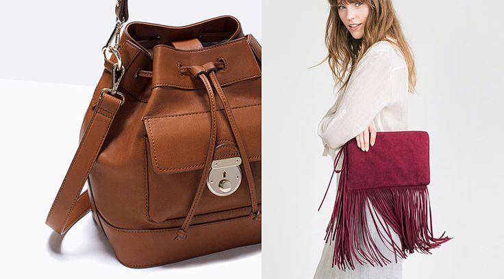 Zara, nueva colección de bolsos AW15 - http://www.bezzia.com/zara-nueva-coleccion-de-bolsos-aw15/