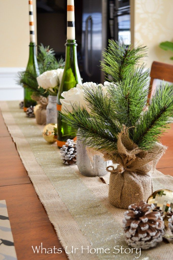 simple ideas on creating a neutral holiday tablescape