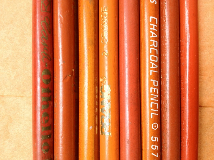 Orange Orange Orange! | Orange pencils