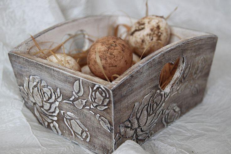 Купить Подставка для кухни или конфетница в стиле шебби - конфетница, подставка для яиц, прованский стиль
