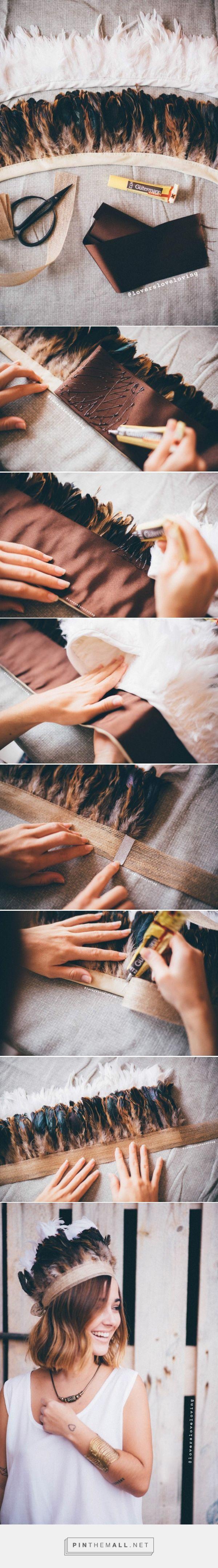 DIY Tutorial: easy feathers crown » Lovers Love Loving