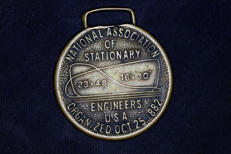 National Association of Stationary Engineers USA Belmont Packing Token