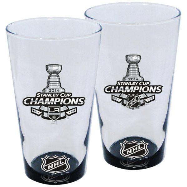 Sklenice Los Angeles Kings Stanley Cup Champions  2 kusy http://fans-shop.eu/1105-stanley-cup-champions-2012-2014