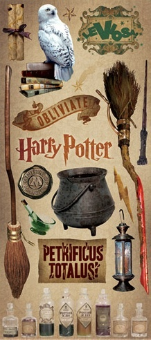 Harry Potter - Large Scrapbooking Stickers