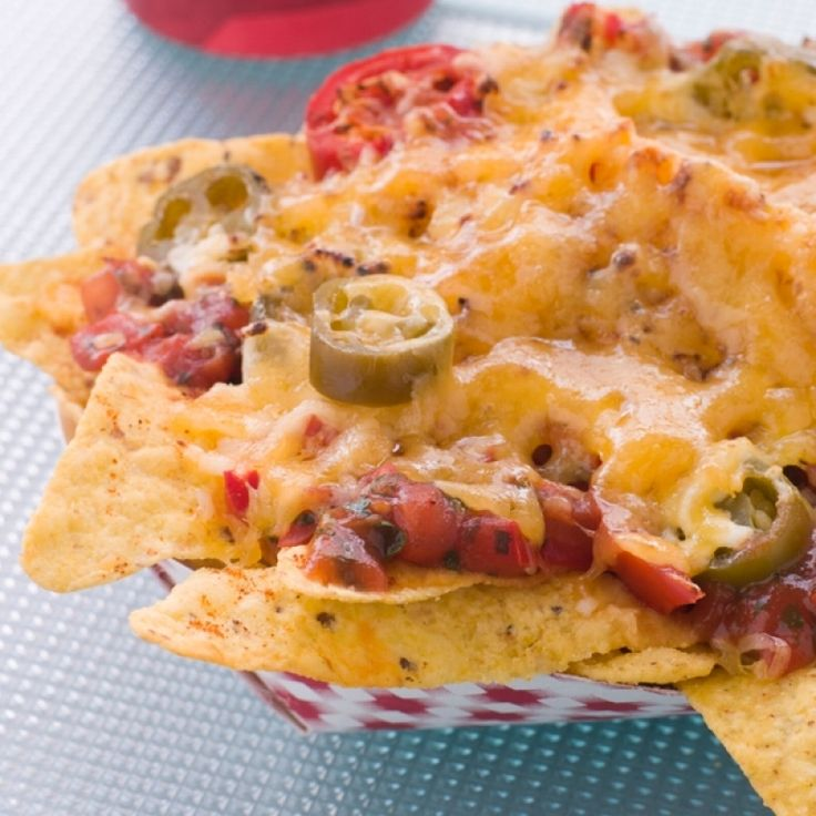 A Great, easy recipe for chili and cheese nachos.. Chili And Cheese Nachos Recipe from Grandmothers Kitchen.