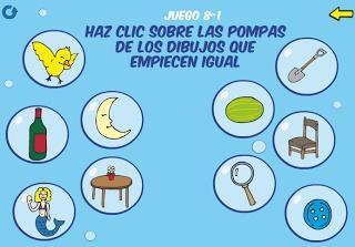 EN EL AULA DE APOYO: CONCIENCIA FONOLÓGICA