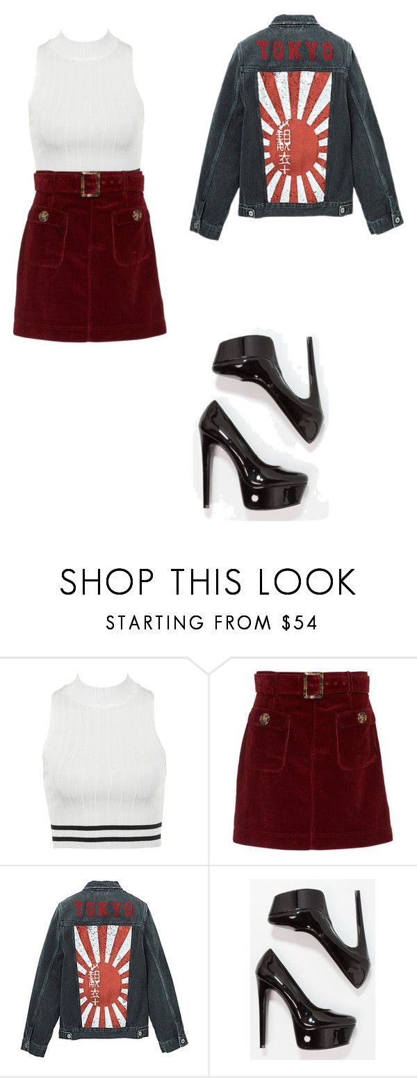 """""""Untitled #20"""" by alexa78-1 on Polyvore featuring AlexaChung, Jacamo and Steve Madden"""