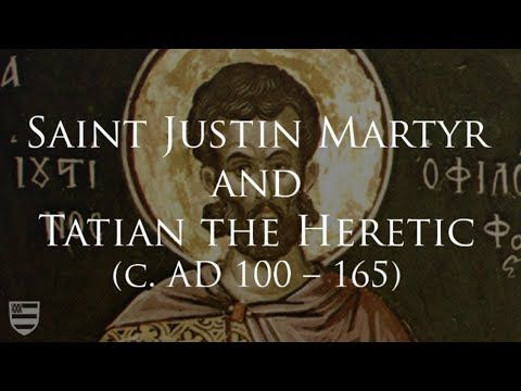 The Incredible Story of St. Justin Martyr & Tatian the Heretic | ChurchPOP