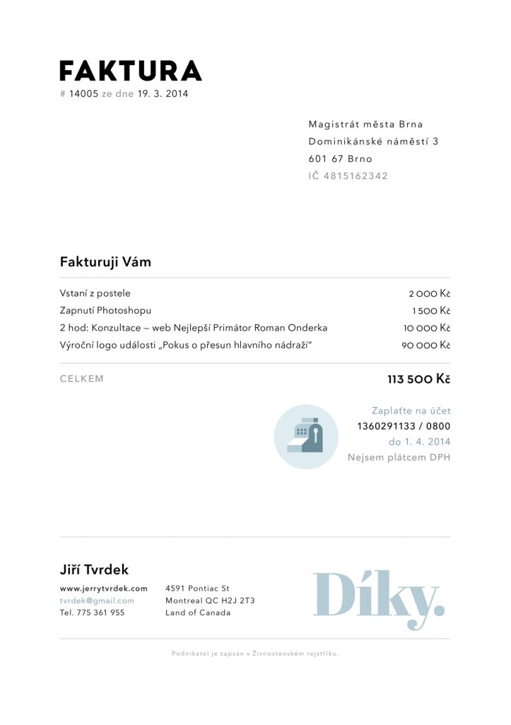 88 best Invoice \ Proposal Design images on Pinterest Model - how to type an invoice