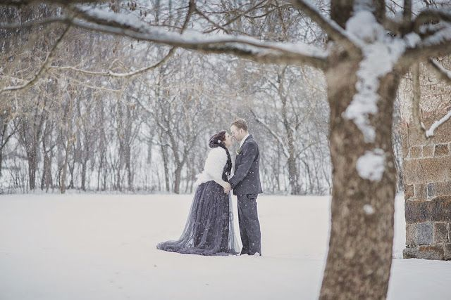 #Winter #wedding of my friend