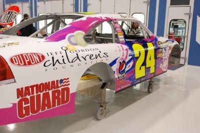 "The Jeff Gordon Children's Foundation Car!  ""Papa's car"" 2010 - it ran at Atlanta Motor Speedway"
