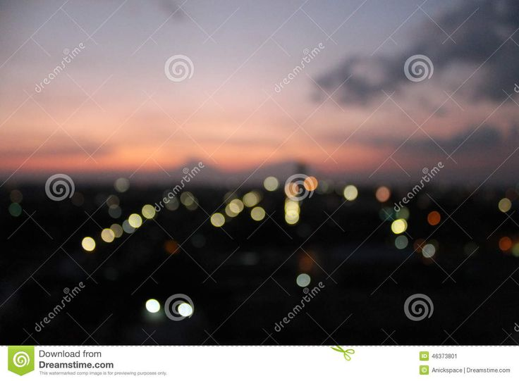 Light Of Sunset Meet The Light Of City - Download From Over 28 Million High Quality Stock Photos, Images, Vectors. Sign up for FREE today. Image: 46373801