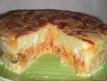 Receita de Torta de frango com catupiry da Lilian - Tudo Gostoso