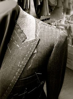DAVIDE TAUB: Tailoring and Cutting @ Gieves & Hawkes No. 1 Savile Row - 3 Piece Suit