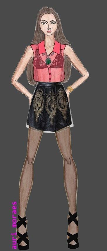 Auriele (desenhos de Moda): FASHIONLISTA