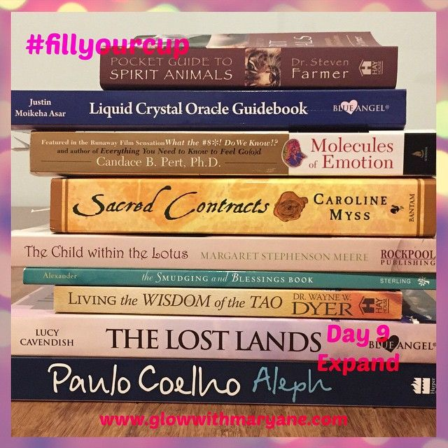 """Day 9 of the 21 Day #fillyourcup Challenge!  Books! Read them. Whether they are spiritual or personal development books, romance novels or even magazines. Read. (With that cuppa you're about to make.) Don't wait for a big chunk of time to curl up with a book, 10-15 minutes at a time and you'll be surprised at how much you get through.  #takecareofyou #selfcare #selflove #timeout #pleasure #nature #breathe #bepresent #beherenow #putyourneedsfirst #youdeserveit #books #read #readbooks…"