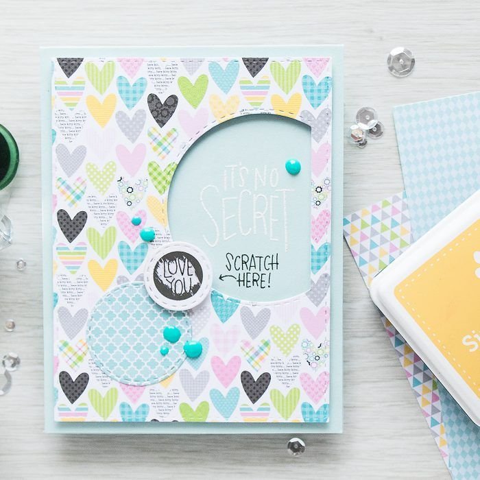 Simon Says Stamp | September Card Kit - Scratch Off Cards - Love You by Yana Smakula