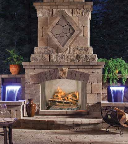 101 best Out Side Fire Places images on Pinterest ...