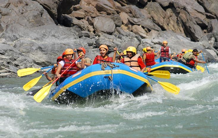 Thrilled and excited travelers who dare to peddle and shout through the white rafting in Rishikesh can't wait.  Rishikesh in Uttarakhand is a hot spot for the rafting lovers and it also famous due to holy pilgrim here.  The main places from where river rafting begins are Shivpuri and Kaudiyala. Rishikesh is now home to thousands of enthusiasm rafters who experienced the white river rafting each year.  #RaftingInRishikesh #Rafting