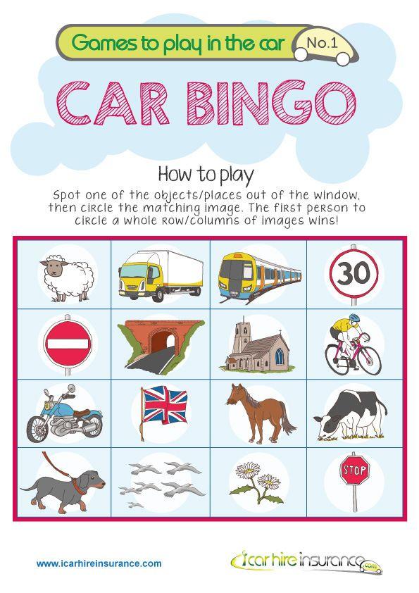 best 25 car bingo ideas only on pinterest road trip bingo car activities and kids travel games