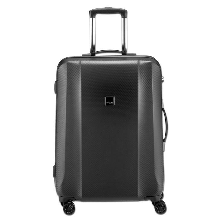 Mittlerer #Reisekoffer TITAN Xenon #Deluxe bei Koffermarkt: ✓ #graphit ✓4 Rollen ✓80 l Volumen ✓67x46x28 cm