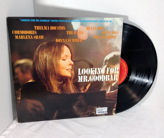 Looking For Mr. Goodbar Soundtrack 1977 Vinyl Record vintage LP 70's Bill Withers O'Jays Thelma Houston Diana Ross Boz Scaggs #LookingForMrGoodbar #records #vinyl #vintagevinyl #soundtracks #album retroregroove.com