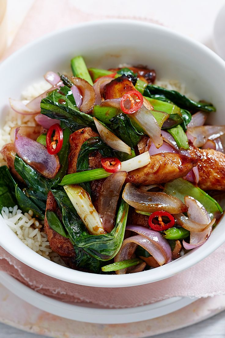 Switch out your regular chicken fillets for lean turkey meat and stir-fry it up in this delicious teriyaki rice bowl. Full of healthy veg and mouth-watering flavours, this 20 minute meal is a midweek go-to.