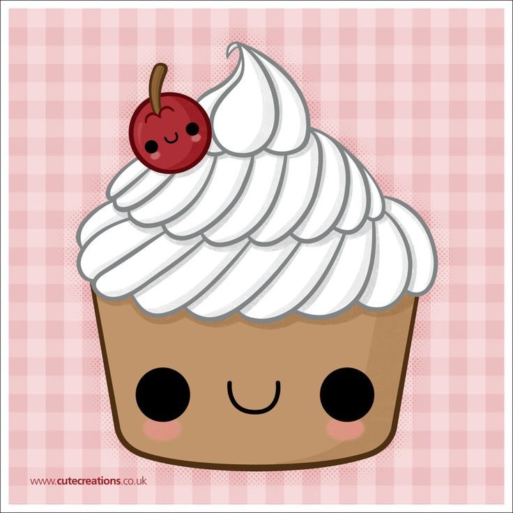 COMMISSION: Cherry Cupcake by Cute-Creations.deviantart.com on @ ...
