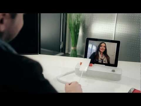 The future is now... Check out how to turn your iPhone or iPad into a desktop phone.