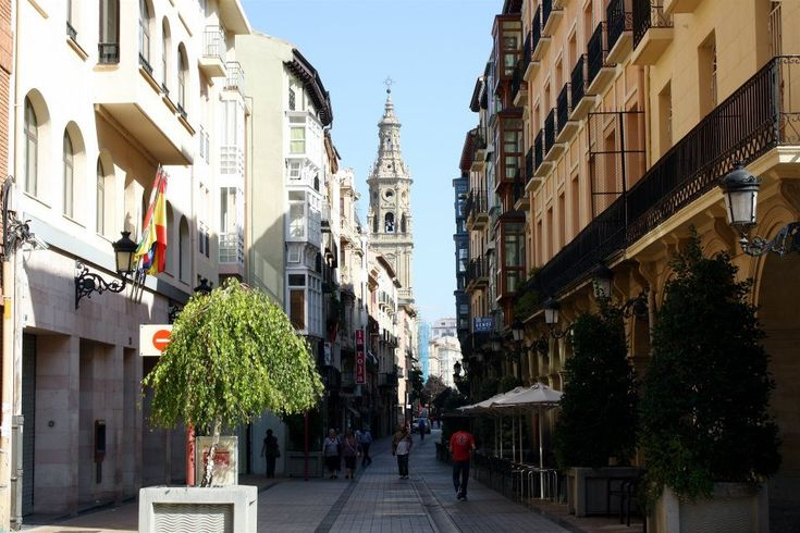 Logroño in La Rioja, the region famous for its red wines (from http://spanishsabores.com)